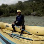 Slovenia. Praticare rafting lungo il fiume Isonzo
