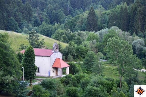 Vista dal Castello di Predjama