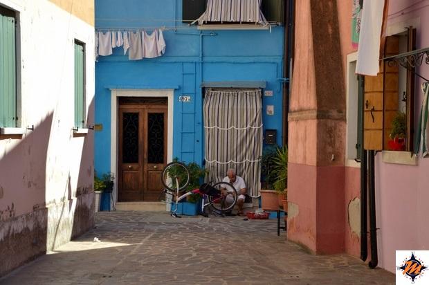 Burano, case di colore