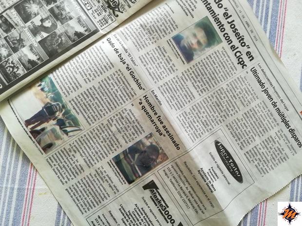 Un periodico venezuelano e i suoi articoli di cronaca nera