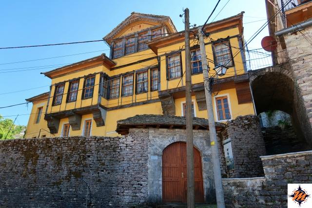 Argirocastro, abitazioni tradizionali