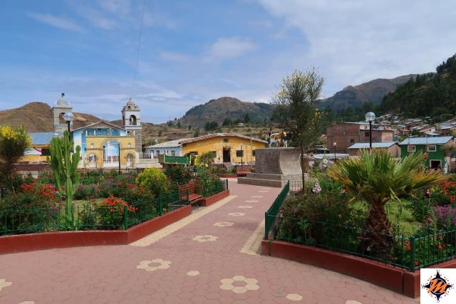 Cancha Cancha, piazza principale