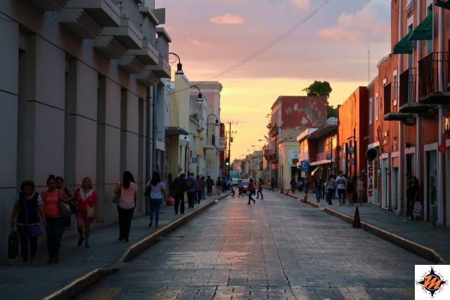 Mérida, tramonto