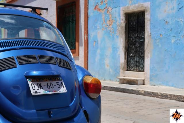 Campeche, nel centro storico
