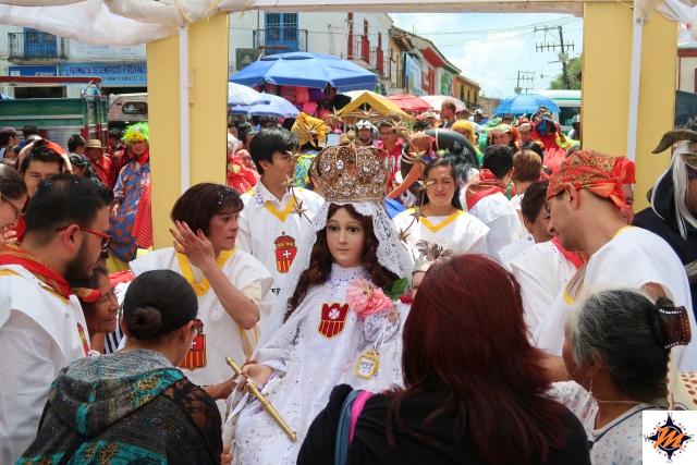 San Cristóbal de Las Casas, Processione per il Templo de la Merced