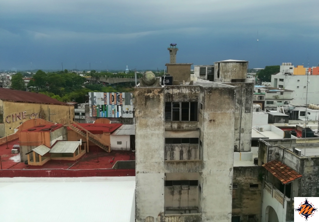 Villahermosa, vista dall'Hotel Miraflores
