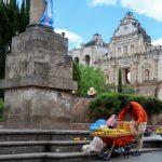 Nel nord del Guatemala. La città di Quetzaltenango