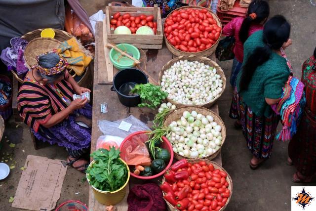 Zunil, mercato