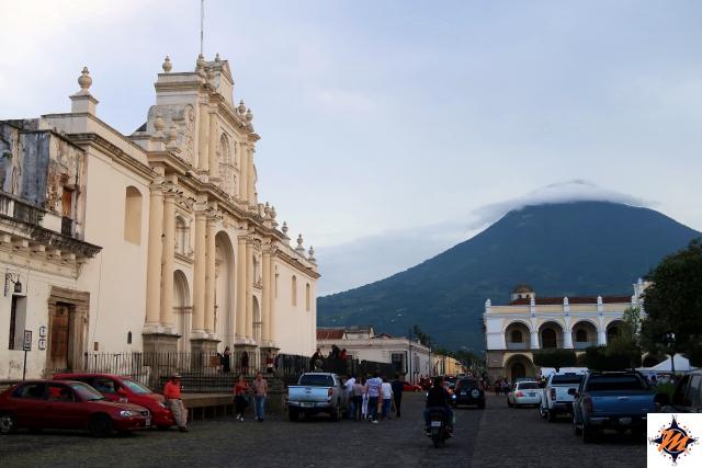 Antigua, Catedral de Santiago