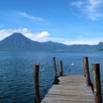 Sul lago Atitlán. Il villaggio di Santa Cruz la Laguna