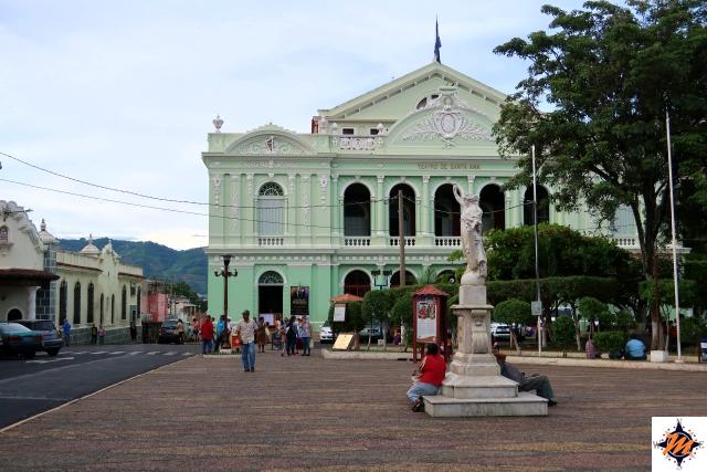 El Salvador. Santa Ana, Teatro