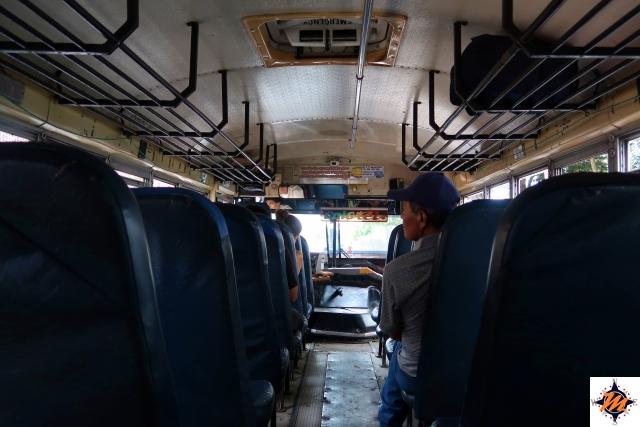 In autobus da Santa Ana a Cerro Verde