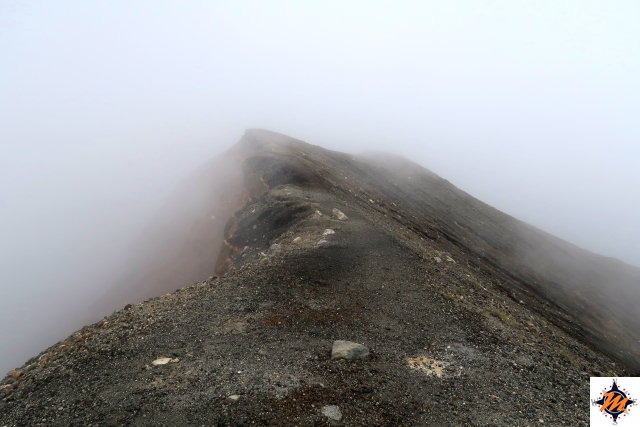 In cima al vulcano Santa Ana
