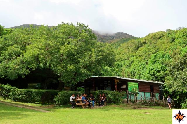 Ingresso al Parque Nacional Los Volcanes