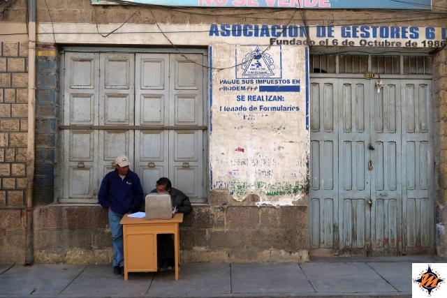 Oruro, tra le vie del centro