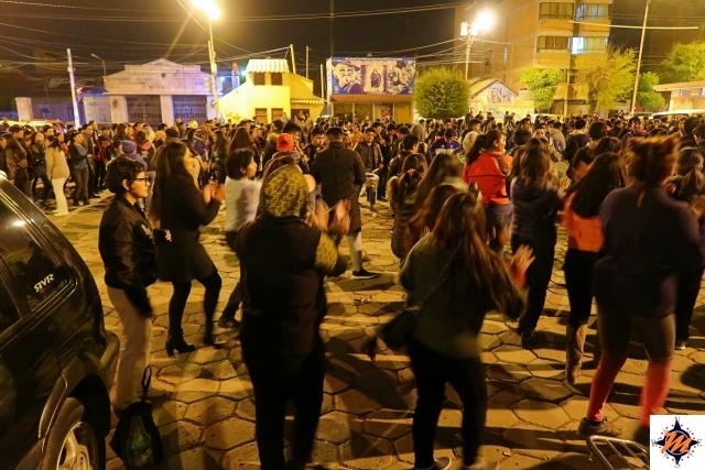 Oruro, danze in vista dell'Apertura Universitaria