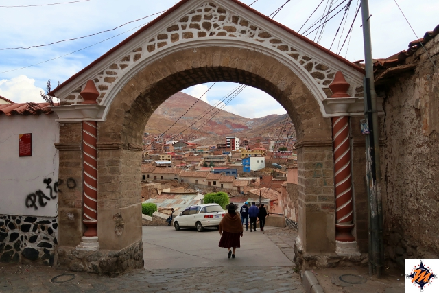 Potosí, Arco de Cobija