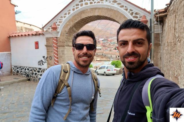 Potosí, con Sebastian