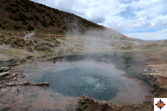 Parco Nazionale Sajama, geysers