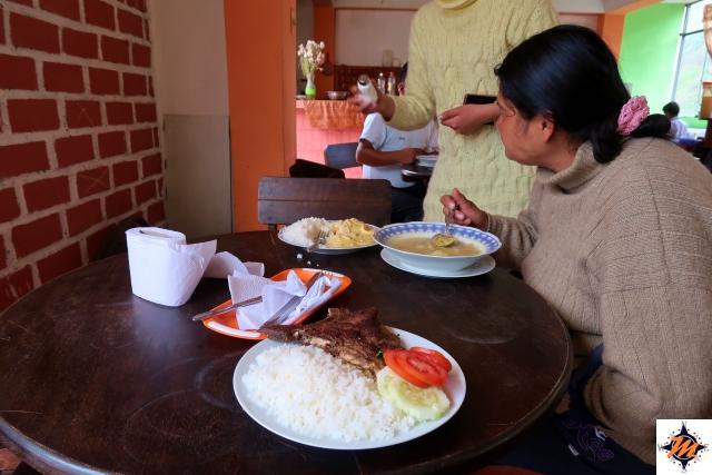 In attesa in un ristorante di Limatambo