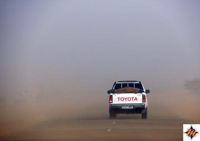 Mauritania, tempesta di sabbia